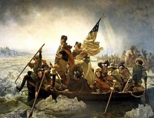 Framing A Great – Washington Crossing The Delaware